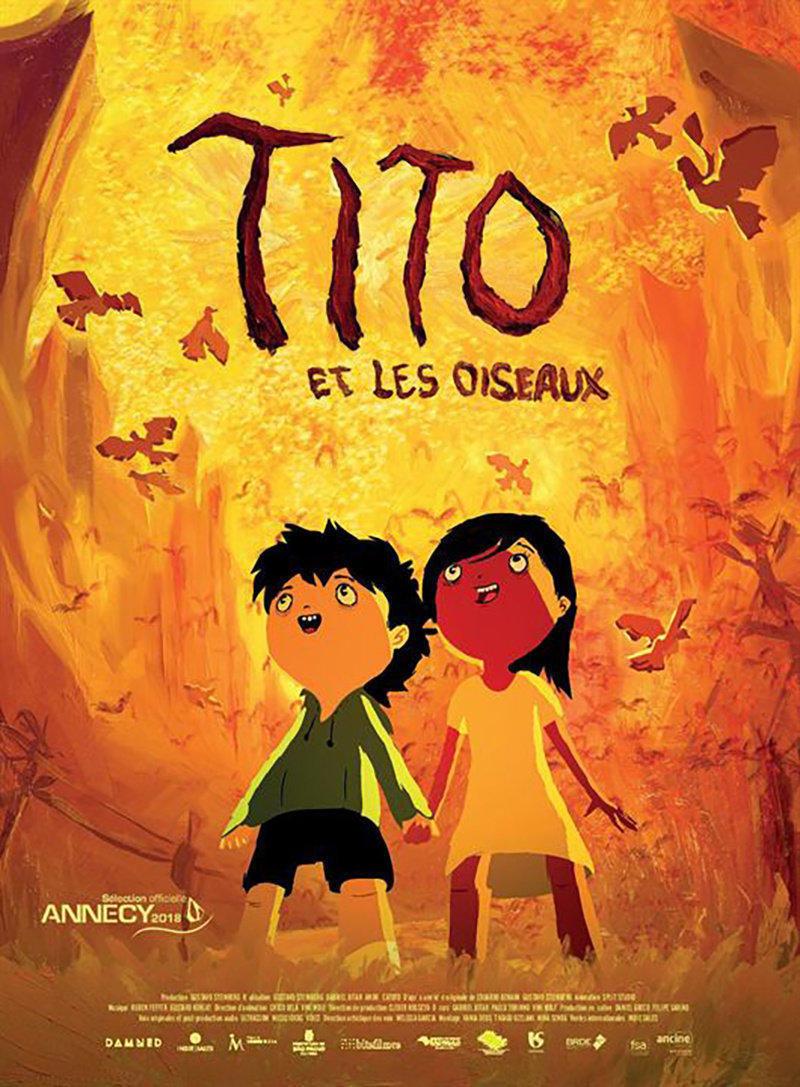 affiche du film Tito et les oiseaux