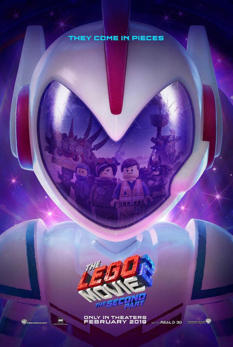 affiche du film La grande aventure Lego 2