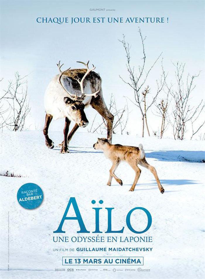 affiche du film Aïlo : une odyssée en Laponie
