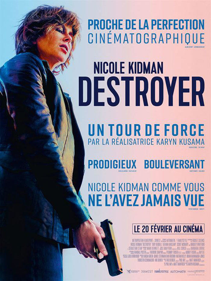 affiche du film Destroyer