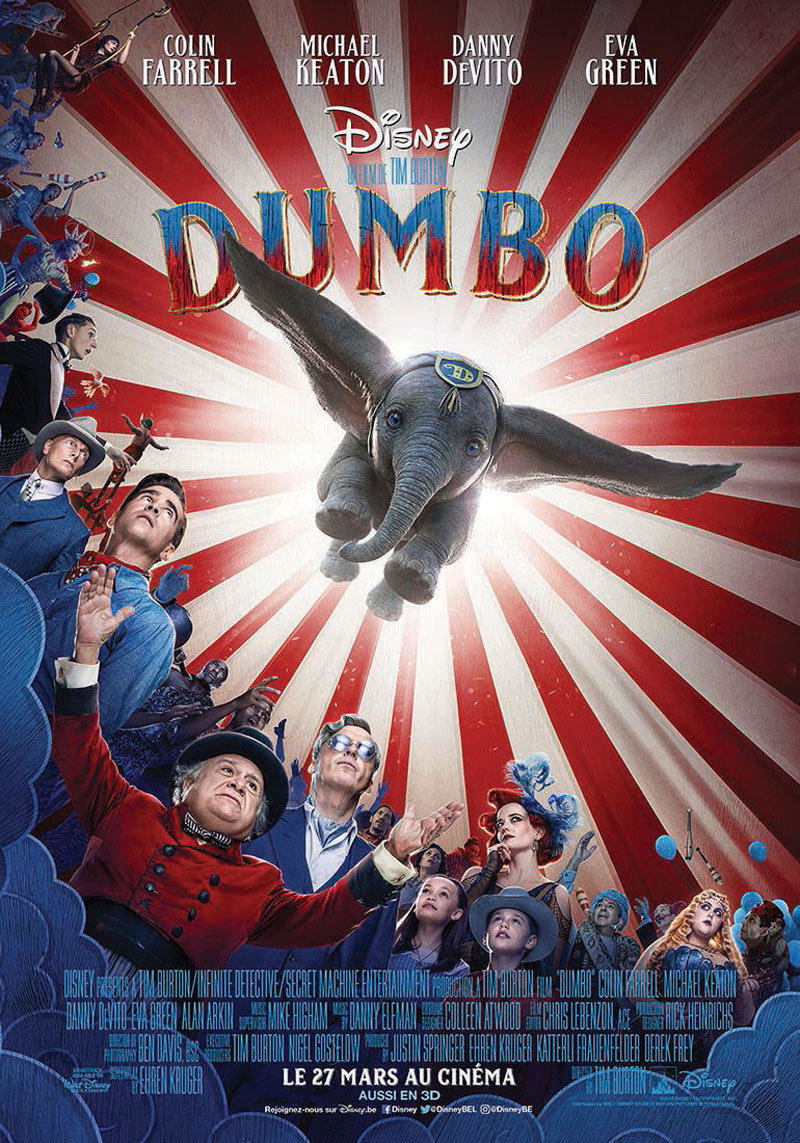 affiche du film Dumbo VO