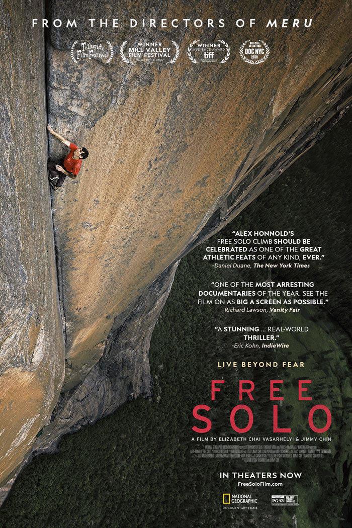 affiche du film Free solo