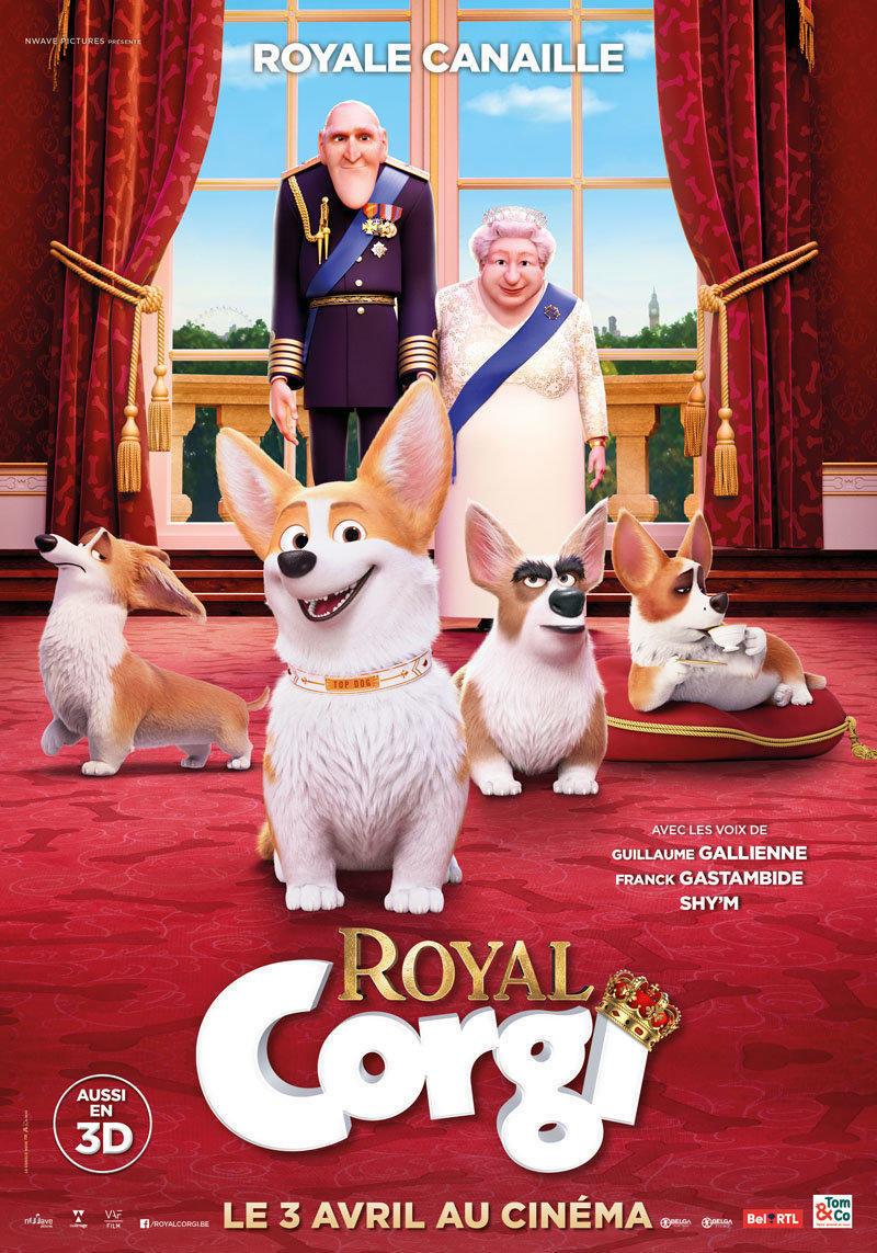 affiche du film Royal corgi