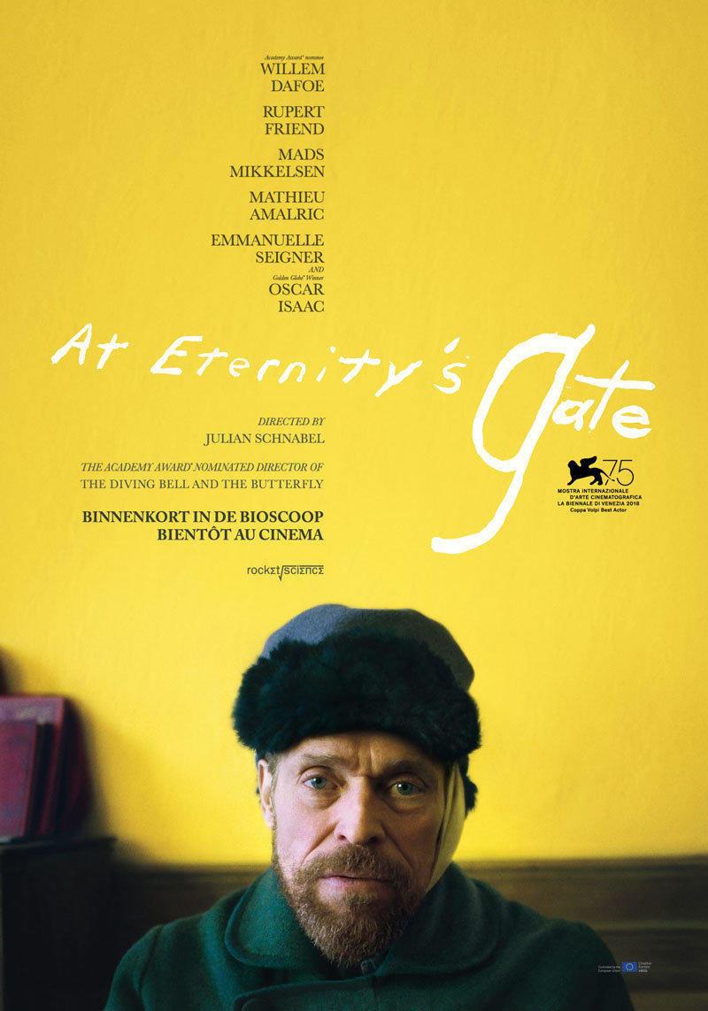 affiche du film At eternity's gate