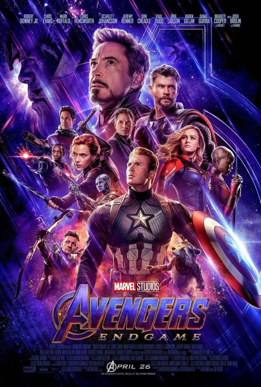 affiche du film Avengers : endgame