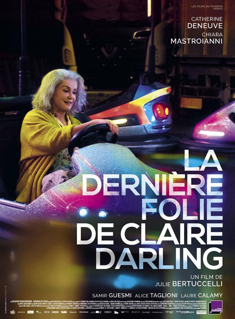 affiche du film La dernière folie de Claire Darling