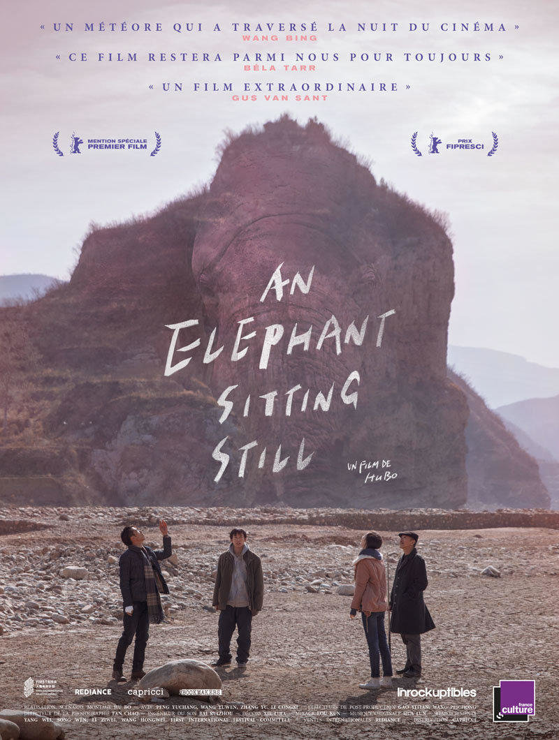 affiche du film An elephant sitting still