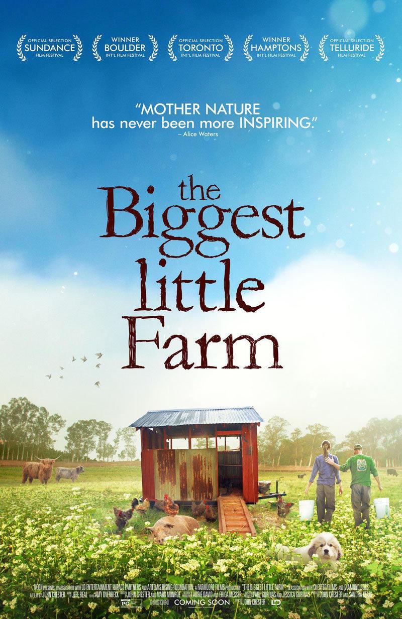 affiche du film The biggest little farm