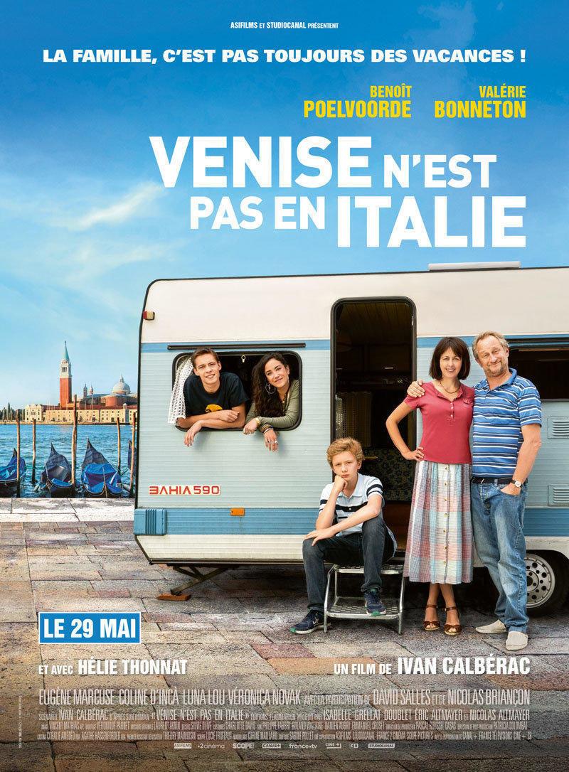 affiche du film Venise n'est pas en Italie