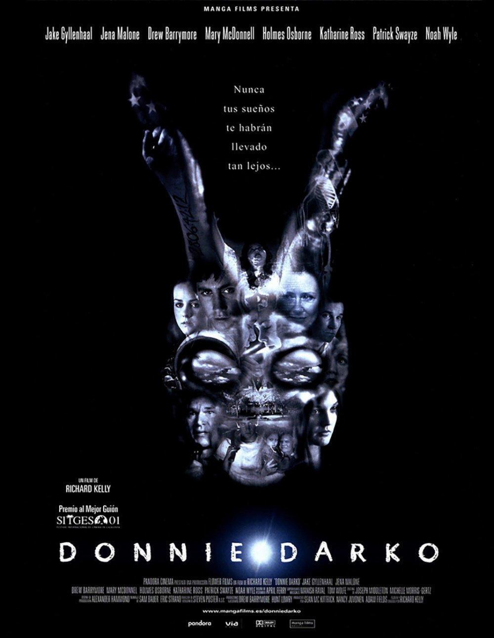 affiche du film Donnie Darko version longue