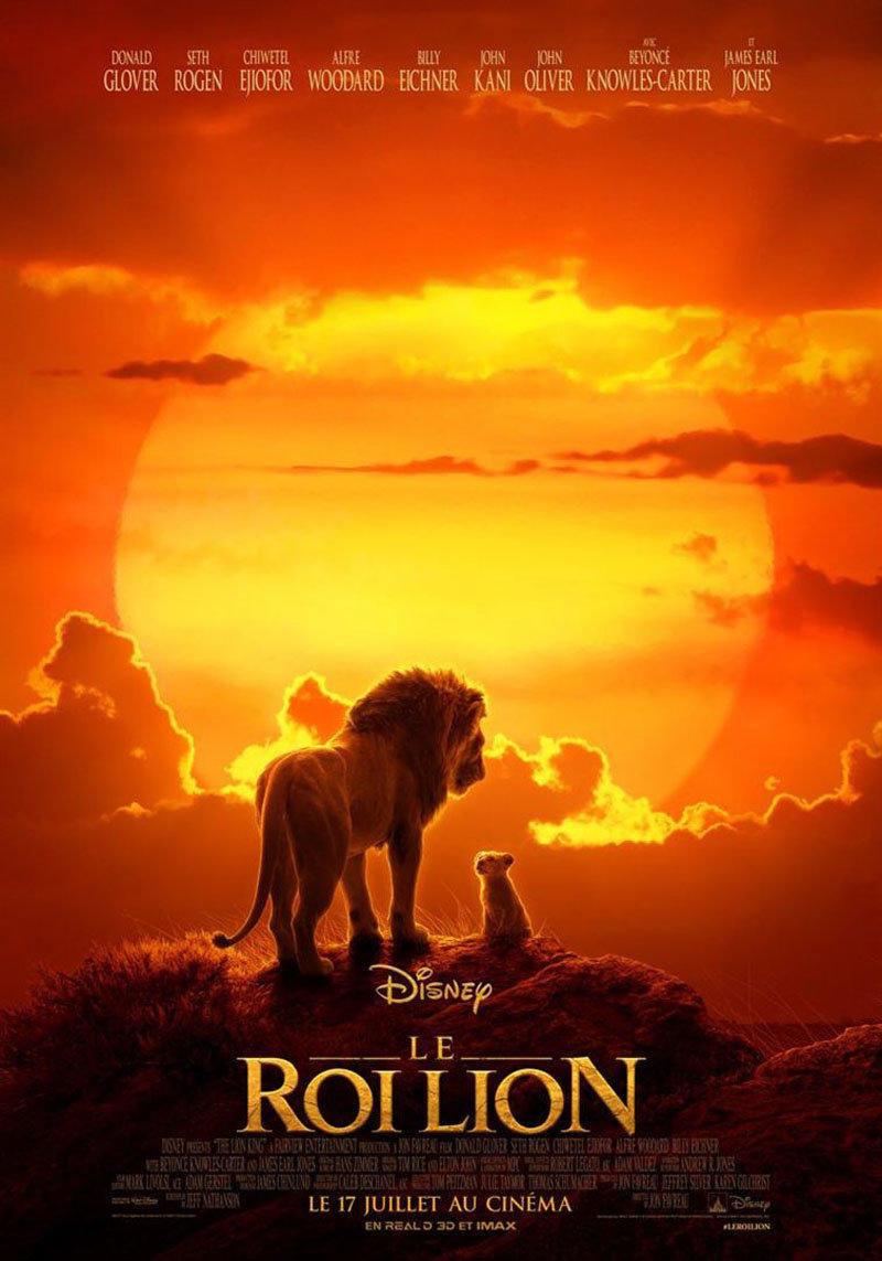 affiche du film Le roi lion VF