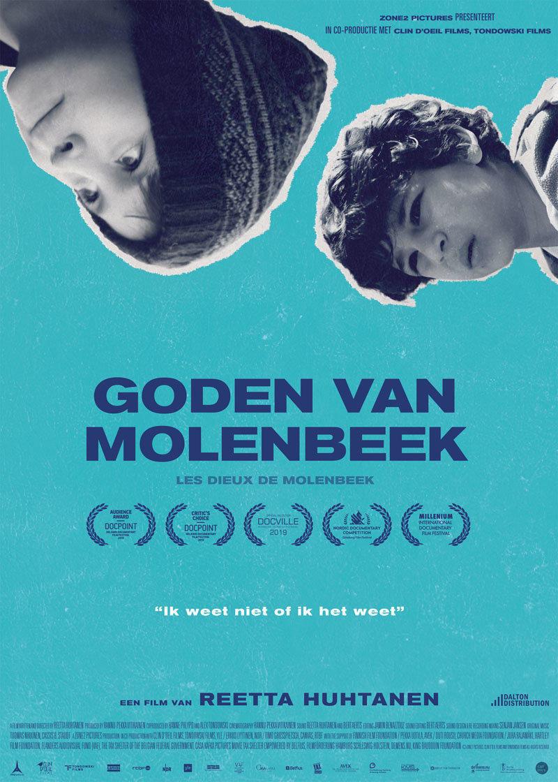 affiche du film Les dieux de Molenbeek