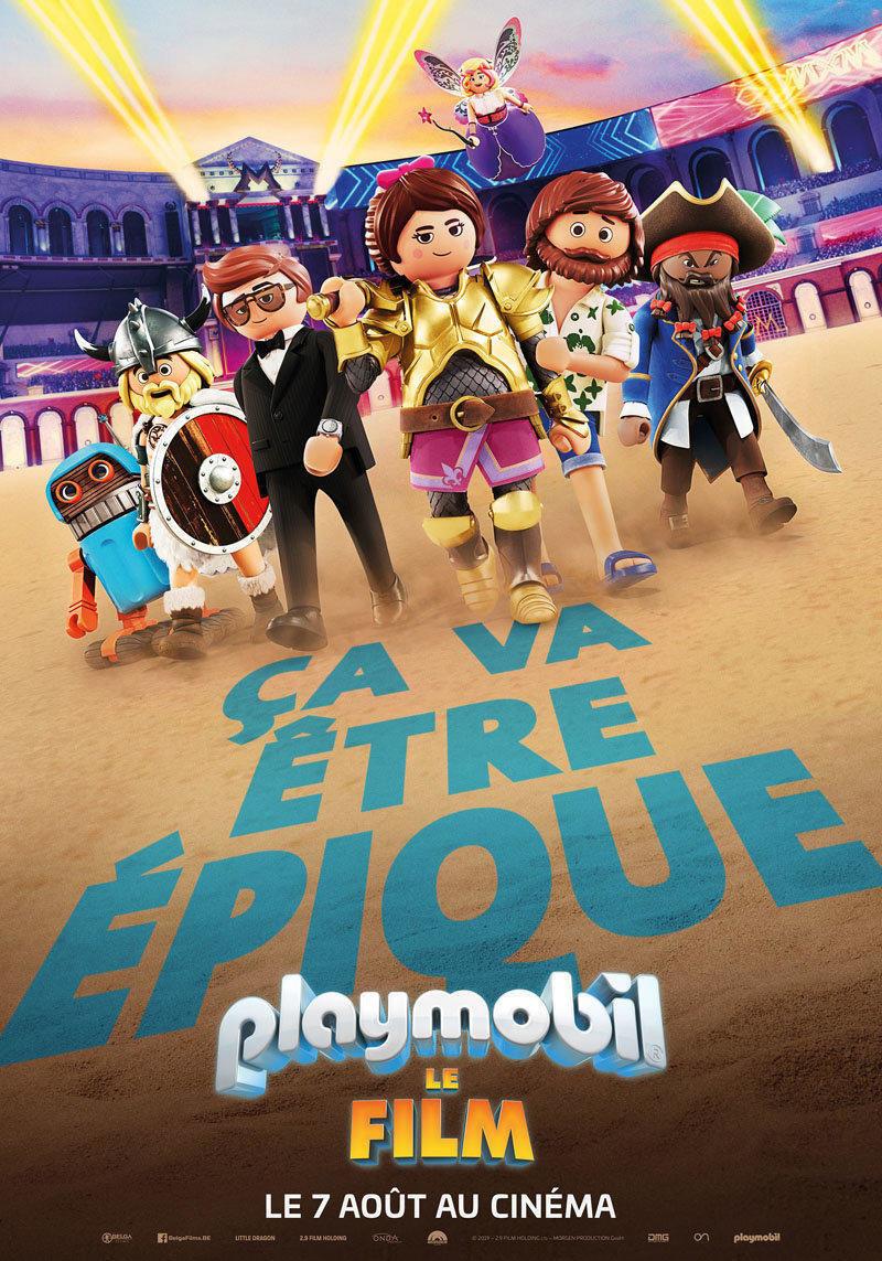 affiche du film Playmobil, le film VF