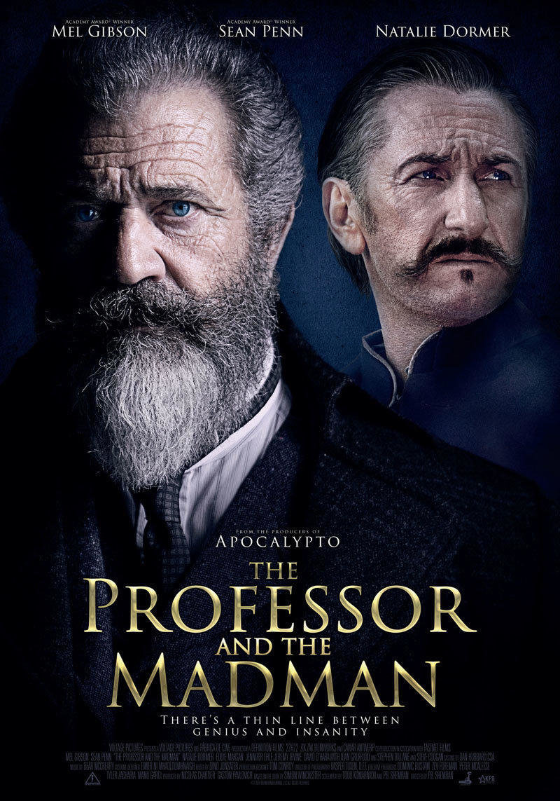 affiche du film The professor and the madman