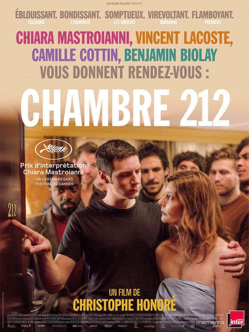 affiche du film Chambre 212