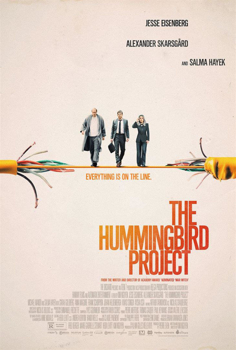 affiche du film The hummingbird project