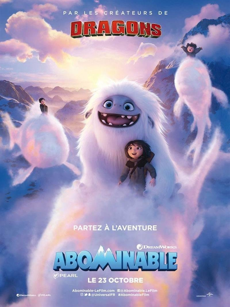 affiche du film Abominable