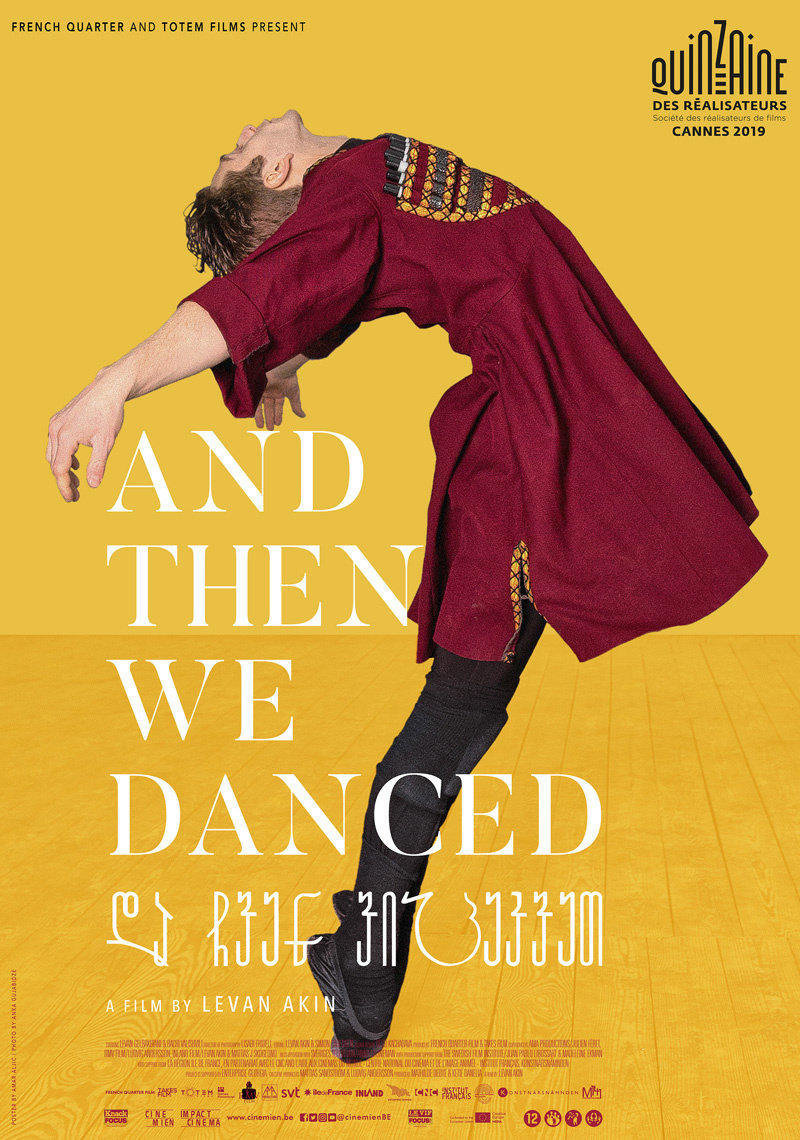 affiche du film And then we danced