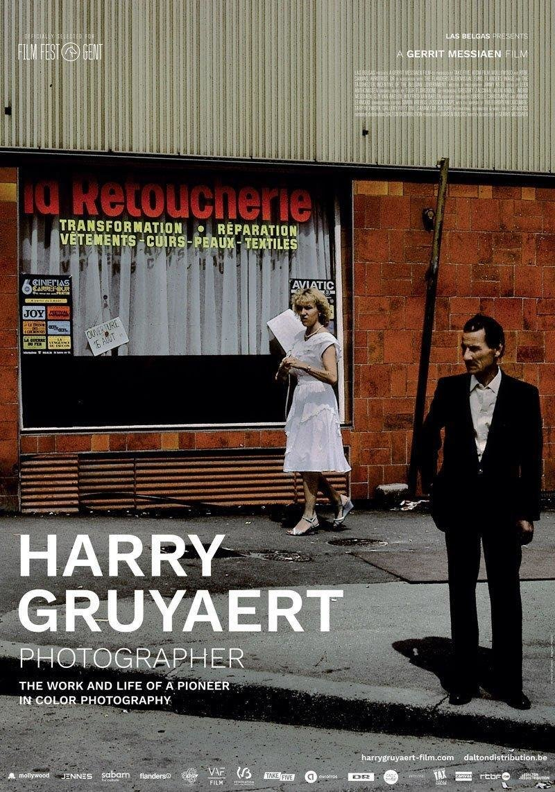 affiche du film Harry Gruyaert, photographe
