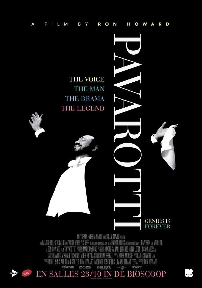 affiche du film Pavarotti