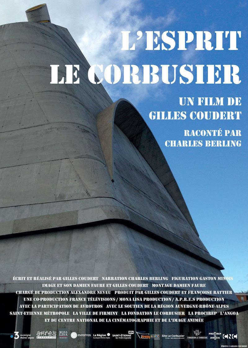 affiche du film L'esprit Le Corbusier