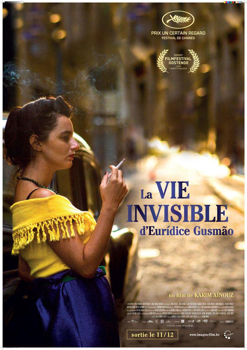 affiche du film La vie invisible d'Euridice Gusmao