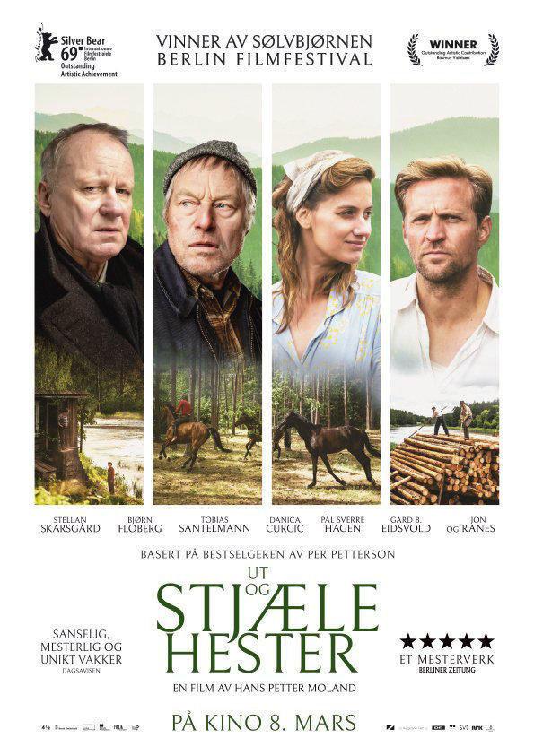 affiche du film Out stealing horses