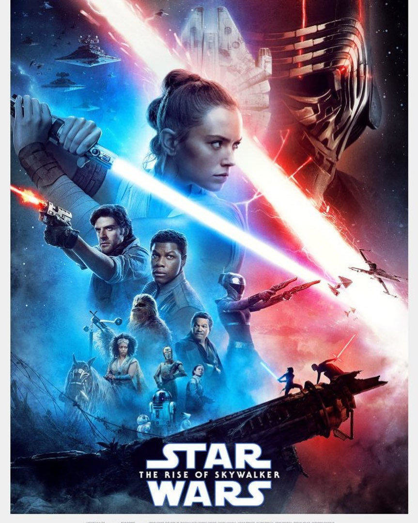 affiche du film Star wars, épisode 9 : l'ascension de Skywalker