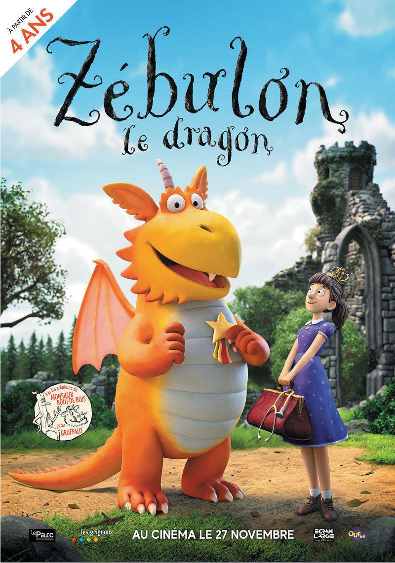 affiche du film Zébulon le dragon
