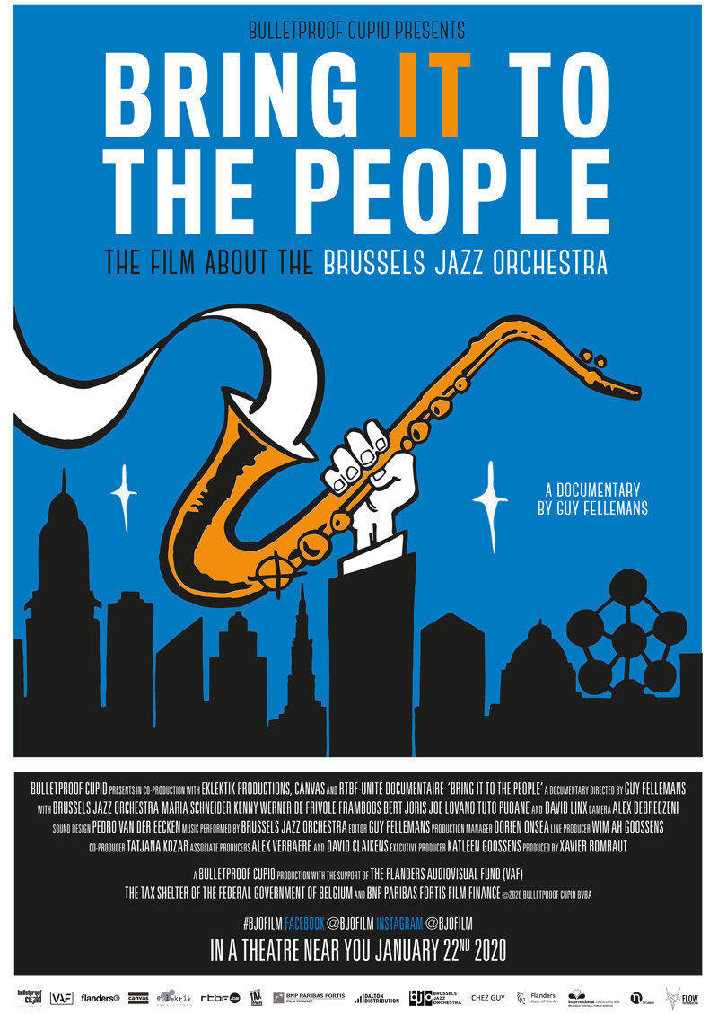 affiche du film Bring it to the people : the film about the Brussels Jazz Orchestra