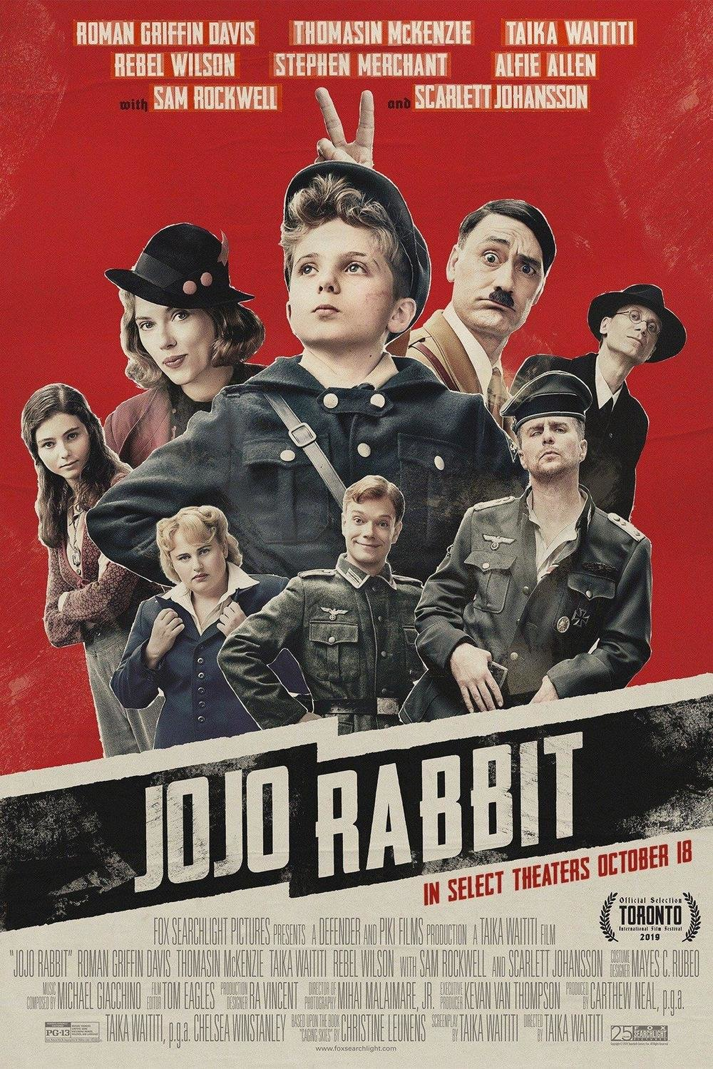 affiche du film Jojo Rabbit