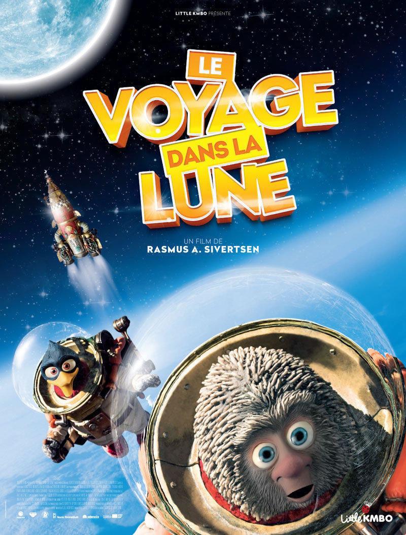affiche du film Le voyage dans la Lune
