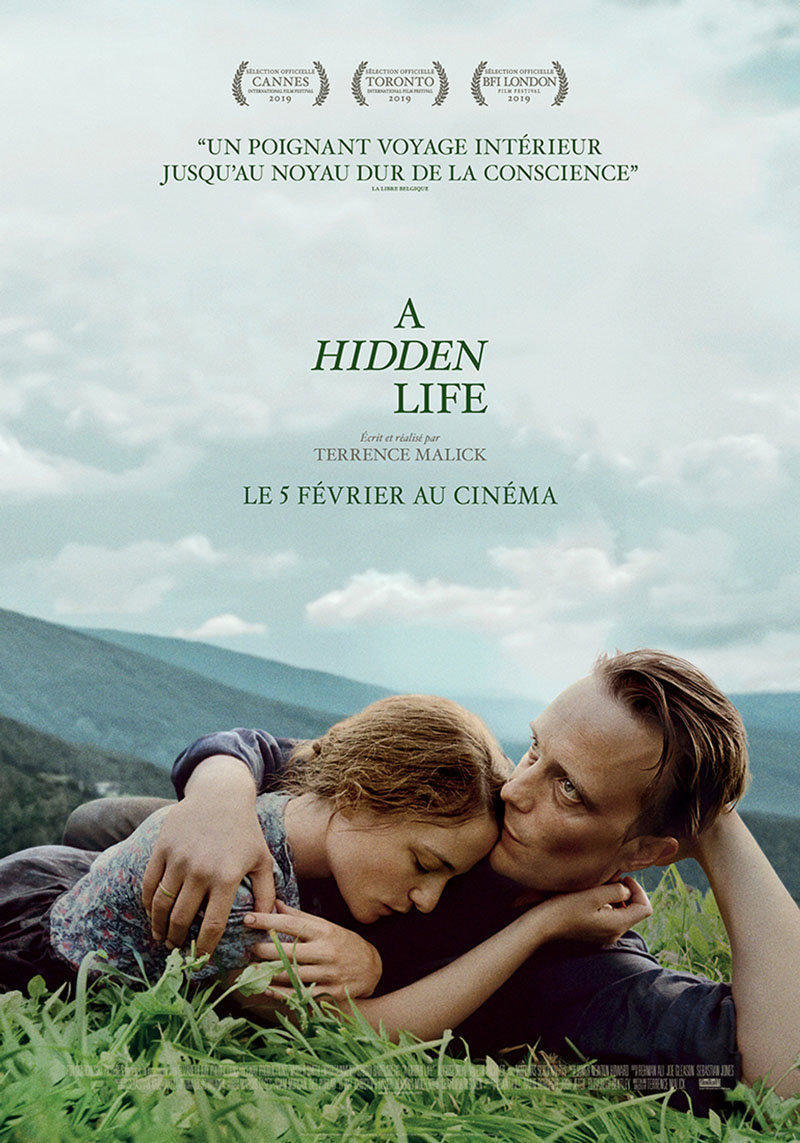 affiche du film A hidden life