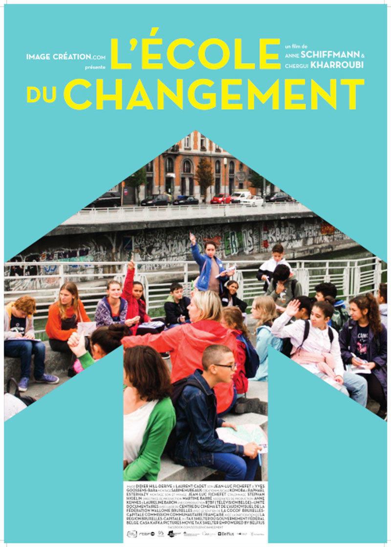 affiche du film L'école du changement